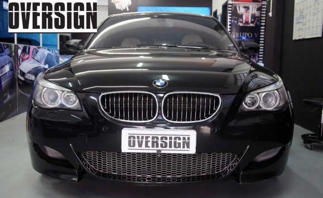 BMW M5 V10 Branco Pérola Power Revest Envelopamento Liquido OVERSIGN (4)