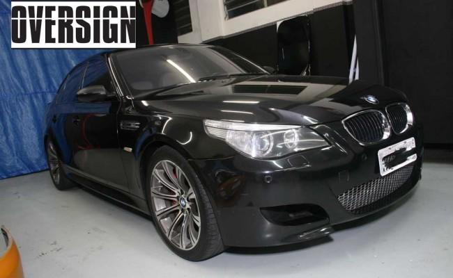BMW M5 V10 Branco Pérola Power Revest Envelopamento Liquido OVERSIGN (5)