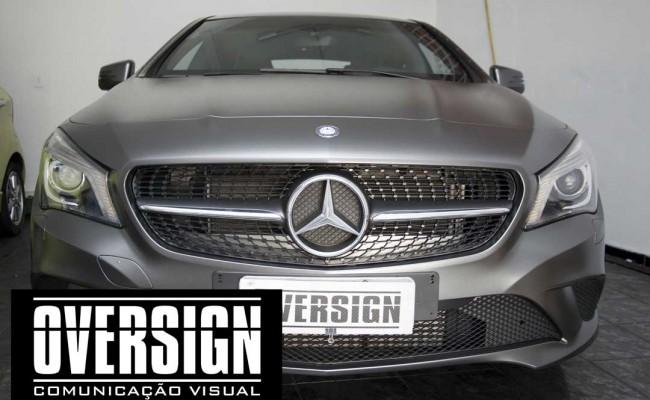 CLA 200 Mercedes, cla 200 envelopada, cla 200 envelopamento, envelopamento, frota de carros, personalização de frotas (4)