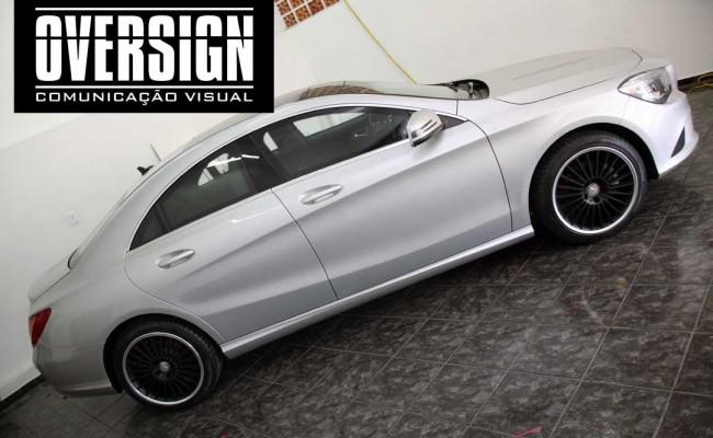 CLA 200 Mercedes, cla 200 envelopada, cla 200 envelopamento, envelopamento, frota de carros, personalização de frotas (7)