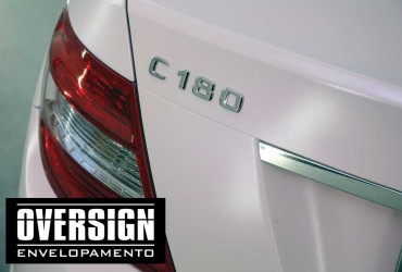 Envelopamento Mercedes C180 Rosa Mary