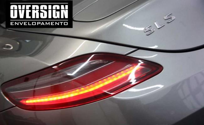 Mercedes SLS, Mercedes SLS envelopada, SLS envelopada, SLS porta de gaivota, oversign (20)