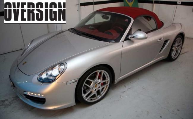 Porsche Boxster Branco Pérola, envelopamento branco pérola, porsche, oversign, ferrari, lamborguini (01)