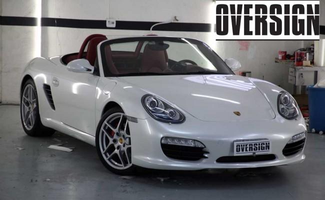 Porsche Boxster Branco Pérola, envelopamento branco pérola, porsche, oversign, ferrari, lamborguini (42)