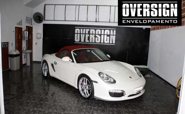 Porsche Boxster S cromada, Porsche cromada, porsche black chromo, avery dennison, adesivo cromado, carro cromado, oversign, (01)