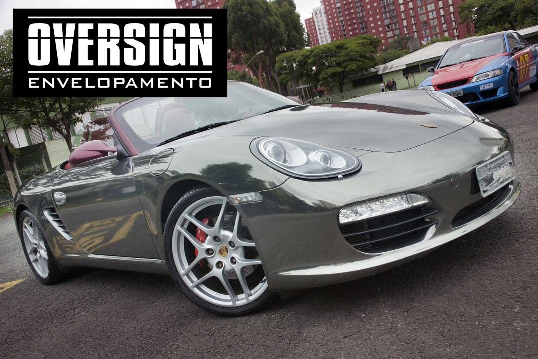 Porsche Boxster S Black Chrome Www Oversign Com Br