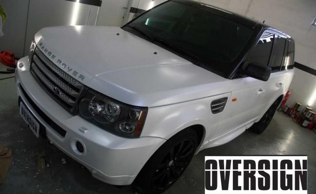 Range Rover Sport envelopamento liquido power revest branco Pérola (57)