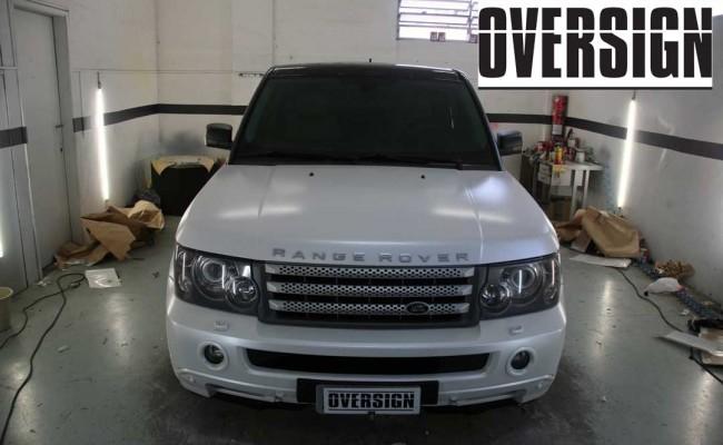 Range Rover Sport envelopamento liquido power revest branco Pérola (59)