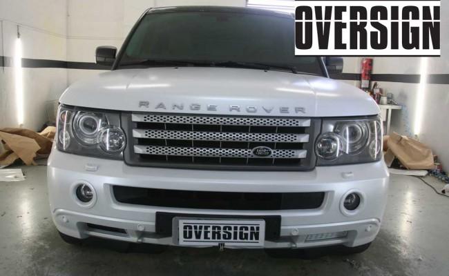 Range Rover Sport envelopamento liquido power revest branco Pérola (60)