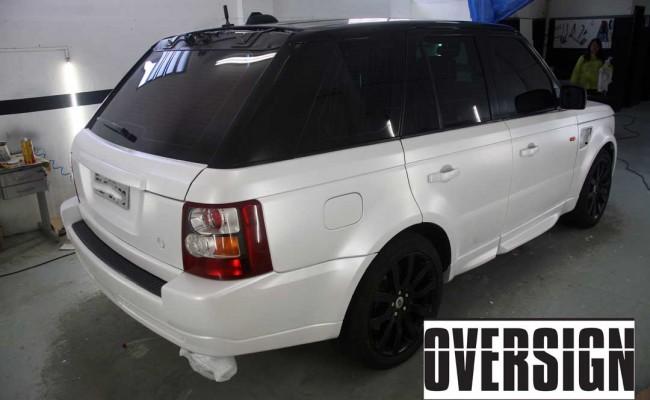 Range Rover Sport envelopamento liquido power revest branco Pérola (64)