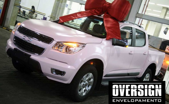 S10 Rosa Mary Kay, OVERSIGN rosa, Mary Kay, carros Mary Kay, (21)