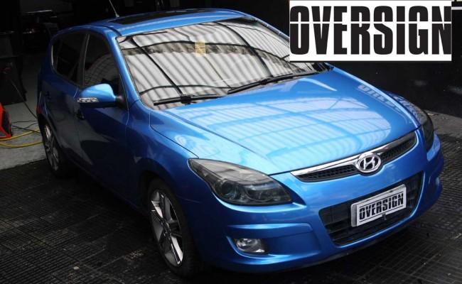 i30 azul metalico – envelopado – oversign – oracal 970 – oracal – orafol – (40)