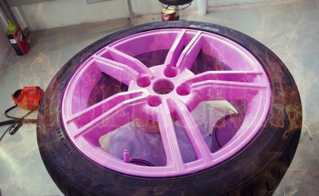 Envelopamento de roda – Envelopamento de rodas – Emborrachamento de rodas, power revest, roda colorida, roda dourada, roda preta, roda rosa, roda branca,  (50)