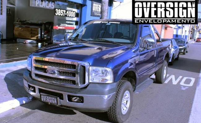 F250, F250 super duty, super duty, f250 azul, f250 azul metalico, envelopamento de carros, envelopamento automotivo, avery dennison (13)