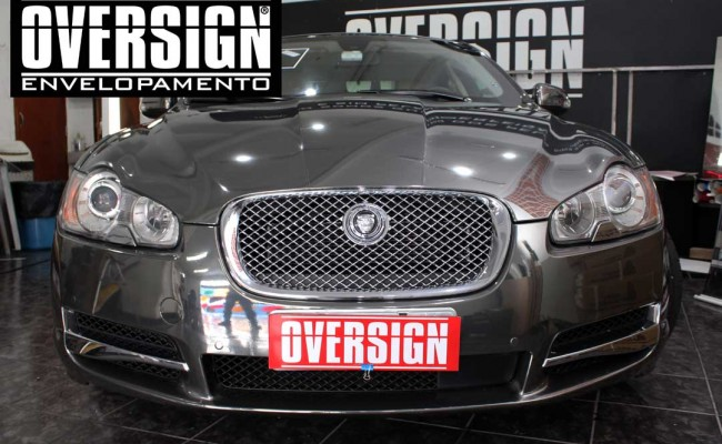 Jaguar xf, Jaguar cromado, Jaguar, Envelopamento, adesivo cromado, sidisign, oversign, avery dennison, supreme wrapping, jaguar brasil, (40)