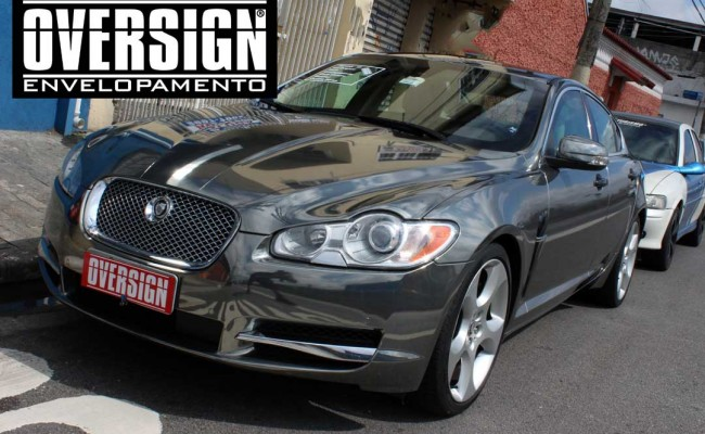Jaguar xf, Jaguar cromado, Jaguar, Envelopamento, adesivo cromado, sidisign, oversign, avery dennison, supreme wrapping, jaguar brasil, (51)