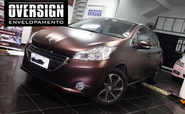 Peugeot premier, premier fosco, marron fosco, marrom metalico, peugeot fosco, 208, peugeot 208, peugeot 208 fosco, 208 premier, fosco,(17)