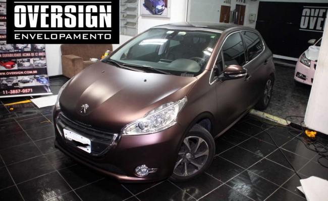 Peugeot premier, premier fosco, marron fosco, marrom metalico, peugeot fosco, 208, peugeot 208, peugeot 208 fosco, 208 premier, fosco,(18)
