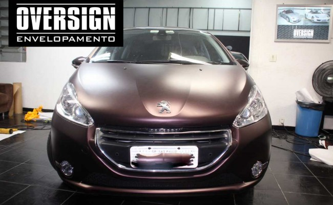 Peugeot premier, premier fosco, marron fosco, marrom metalico, peugeot fosco, 208, peugeot 208, peugeot 208 fosco, 208 premier, fosco,(19)