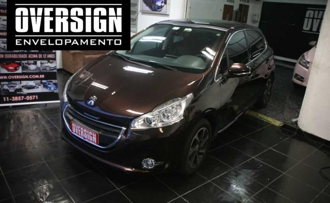 Peugeot premier, premier fosco, marron fosco, marrom metalico, peugeot fosco, 208, peugeot 208, peugeot 208 fosco, 208 premier, fosco,(6)