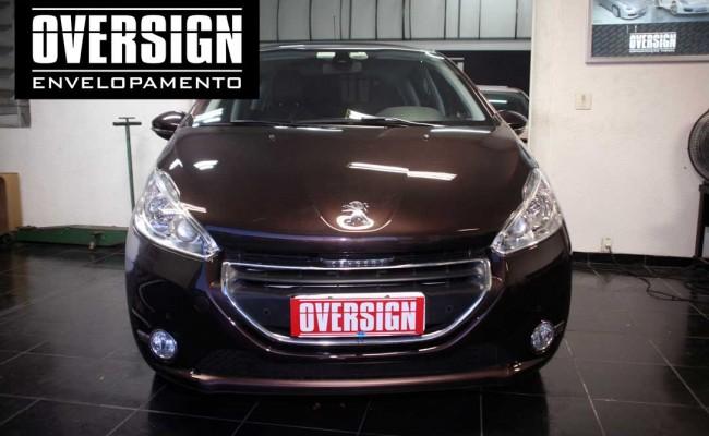 Peugeot premier, premier fosco, marron fosco, marrom metalico, peugeot fosco, 208, peugeot 208, peugeot 208 fosco, 208 premier, fosco,(8)