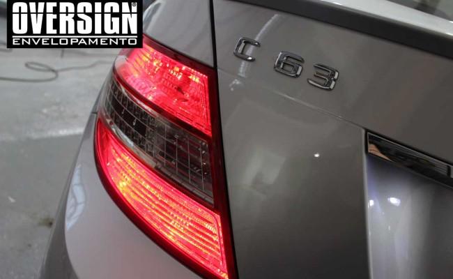 Mercedes C63 AMG Vermelho, c63 vermelho, amg vermelho, divena, ammarcelo, wrap red, envelopamento vermelho, adesivo vermelho, c63 envelopada, oversign (12)