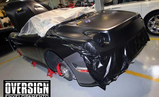 Ferrari California black satin, proteção pintura, ceramic pro, auto esporte, ceramic pro auto esporte,proteção extra pintura , oversign, wrap (10)