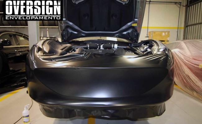 Ferrari California black satin, proteção pintura, ceramic pro, auto esporte, ceramic pro auto esporte,proteção extra pintura , oversign, wrap (17)