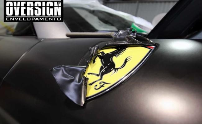 Ferrari California black satin, proteção pintura, ceramic pro, auto esporte, ceramic pro auto esporte,proteção extra pintura , oversign, wrap (19)
