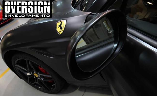 Ferrari California black satin, proteção pintura, ceramic pro, auto esporte, ceramic pro auto esporte,proteção extra pintura , oversign, wrap (40)