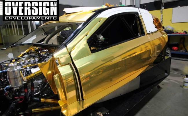 Stock Car 2016, Carros dourados, Hotcar competições, carro cromado ouro, abbate, lapenna, envelopamento, oversign, Avery Dennison, Corrida Milhao, (13)