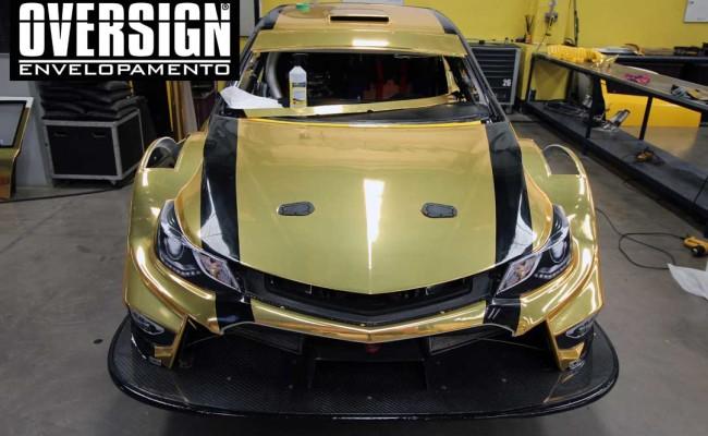 Stock Car 2016, Carros dourados, Hotcar competições, carro cromado ouro, abbate, lapenna, envelopamento, oversign, Avery Dennison, Corrida Milhao, (55)