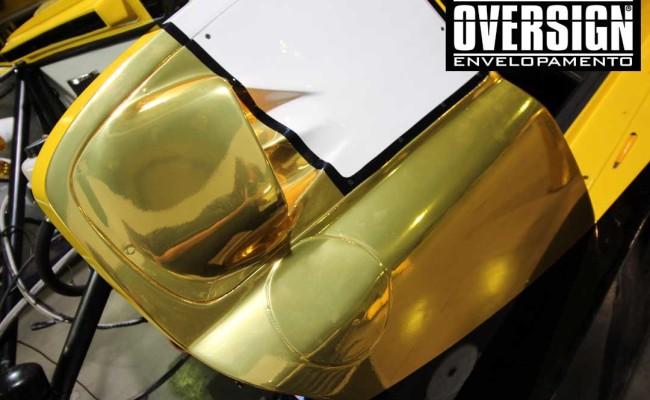 Stock Car 2016, Carros dourados, Hotcar competições, carro cromado ouro, abbate, lapenna, envelopamento, oversign, Avery Dennison, Corrida Milhao, (6)