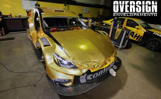 Stock Car 2016, Carros dourados, Hotcar competições, carro cromado ouro, abbate, lapenna, envelopamento, oversign, Avery Dennison, Corrida Milhao, (74)