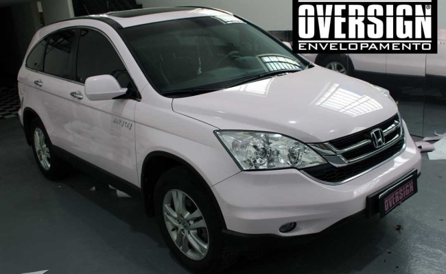 CR-V Mary Kay, crv, crv rosa, cr-v, mary kay, envelopamento mary kay, oversign, adesivo mary kay, ORACAL rosa, ORACAL 970, (13)