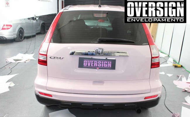 CR-V Mary Kay, crv, crv rosa, cr-v, mary kay, envelopamento mary kay, oversign, adesivo mary kay, ORACAL rosa, ORACAL 970, (9)