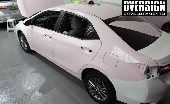 Corolla 2017, Novo Corolla, Corolla rosa, Corolla mary kay, mary kay, avery supreme, oracal 970, oracal rosa, envelopamento rosa, oversign, (10)