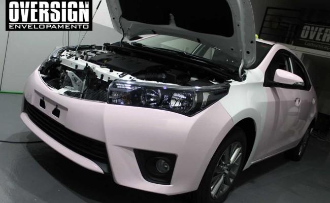 Corolla 2017, Novo Corolla, Corolla rosa, Corolla mary kay, mary kay, avery supreme, oracal 970, oracal rosa, envelopamento rosa, oversign, (13)