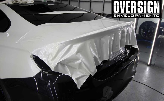 BMW M4 branco pérola, Hexis, Avery Dennison, Sid signs, oversign, envelopamento de carro, M4, f82 (16)