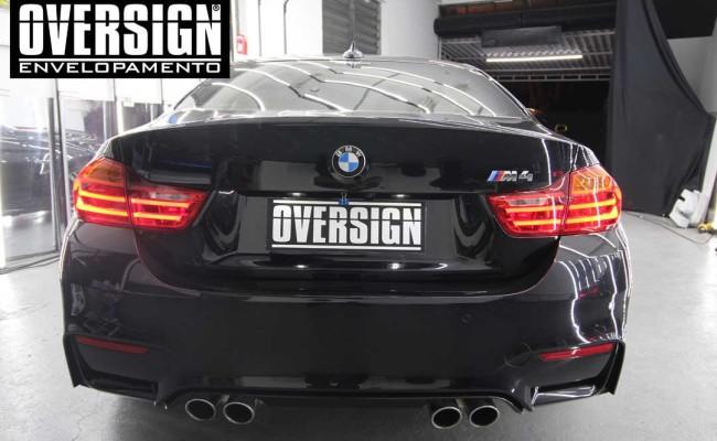 BMW M4 branco pérola, Hexis, Avery Dennison, Sid signs, oversign, envelopamento de carro, M4, f82 (3)