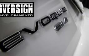 Range Rover Evoque envelopamento Branco