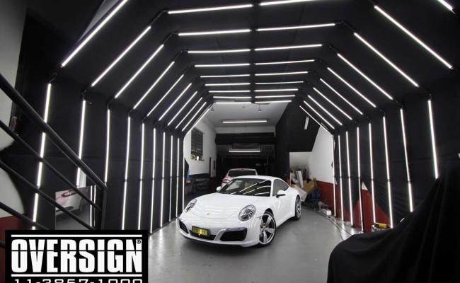 Porsche 911, filme de proteção de pintura, ppf, hexis body fence, paint protection film, novo porsche 2018, (01)