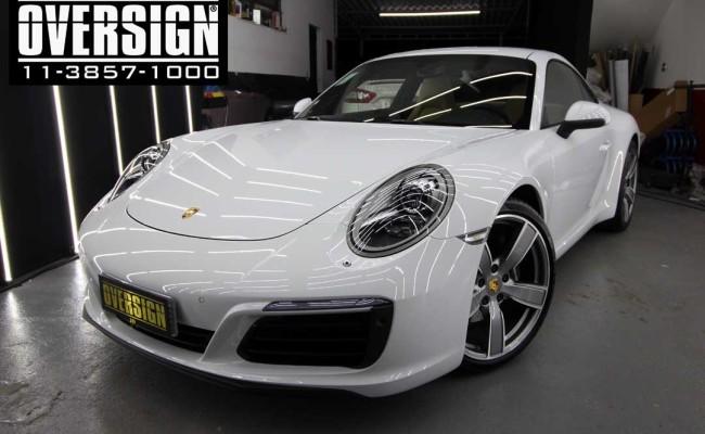 Porsche 911, filme de proteção de pintura, ppf, hexis body fence, paint protection film, novo porsche 2018, (2)