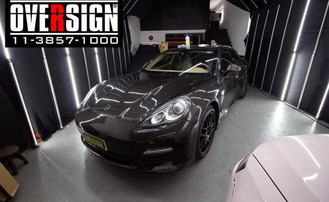 Porsche Panamera 4s, Porsche Panamera envelopada, Porsche cinza fosco, envelopamento cinza fosco, envelopamento cinza metalico fosco, over, panamera (01)
