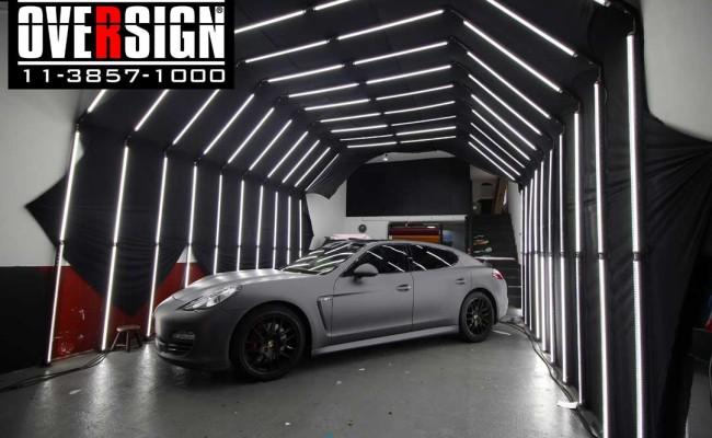Porsche Panamera 4s, Porsche Panamera envelopada, Porsche cinza fosco, envelopamento cinza fosco, envelopamento cinza metalico fosco, over, panamera (10)