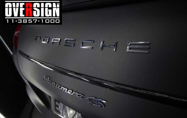 Porsche Panamera 4s cinza metálico fosco