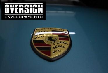 Porsche 911 Turbo, adesivo Filme transparente de proteção de pintura.