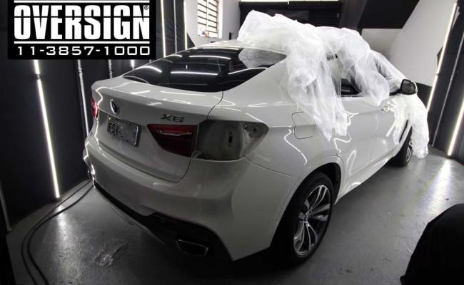 BMW X6 m, bmw x6, bmw x6 grey, nova bmw x6, envelopamento, oversign, grand brasil, v8, twinturbo, (01)