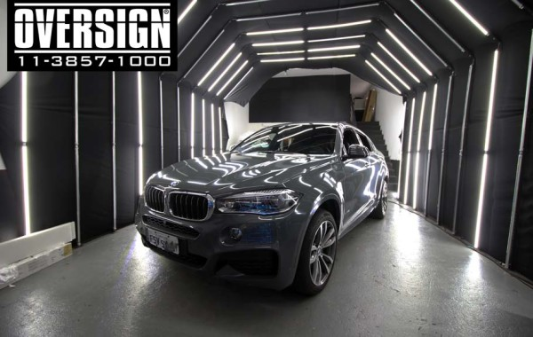 BMW X6 M Traffic Grey.