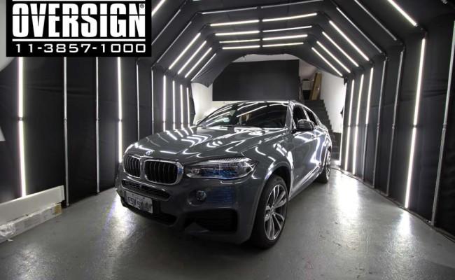 BMW X6 m, bmw x6, bmw x6 grey, nova bmw x6, envelopamento, oversign, grand brasil, v8, twinturbo, (7)
